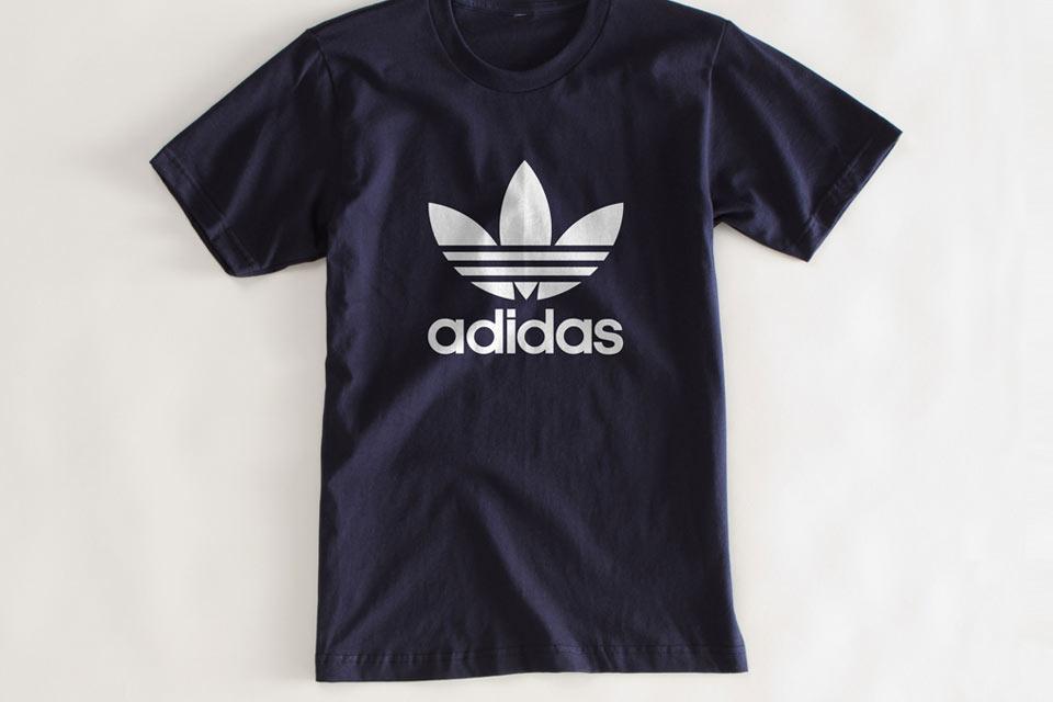 Adidasn щампа на тениска