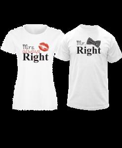 teniski za dvama Mr.&Mrs. Right
