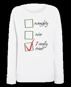 Damska Vatena bluza za Koleda Checklist